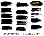 large set different grunge... | Shutterstock .eps vector #1222626754