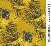 various pencil hatches....   Shutterstock .eps vector #1222633561