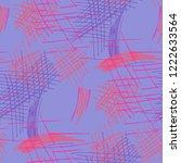 various pen hatches. seamless...   Shutterstock .eps vector #1222633564