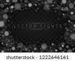 abstract blue bokeh background. ... | Shutterstock .eps vector #1222646161