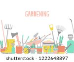 modern horizontal backdrop with ...   Shutterstock .eps vector #1222648897