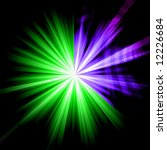 abstract starburst design in...