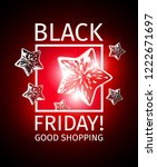 black friday good shopping... | Shutterstock .eps vector #1222671697