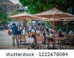stanley  hong kong   nov 04... | Shutterstock . vector #1222678084