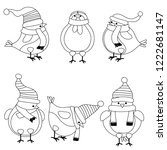 christmas birds collection for...