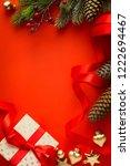 christmas tree  christmas gift... | Shutterstock . vector #1222694467