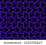 modern geometric ornament.... | Shutterstock .eps vector #1222702627