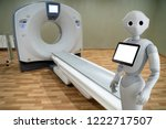 medical robot on the background ... | Shutterstock . vector #1222717507