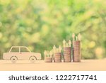 family car   auto and money...   Shutterstock . vector #1222717741