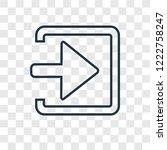 enter left concept vector...   Shutterstock .eps vector #1222758247