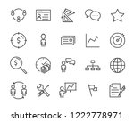 set of job seach icons  such as ... | Shutterstock .eps vector #1222778971