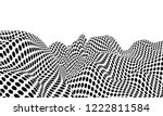 optical illusion lines... | Shutterstock .eps vector #1222811584