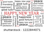 2019 Happy New Year Wordcloud ...