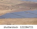Aerial Photo Of Solar Power...