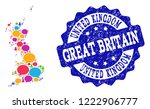 social network map of great...   Shutterstock .eps vector #1222906777