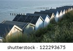 beach huts at clacton on sea ...