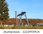 rail crane in production.... | Shutterstock . vector #1222955914