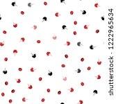light red vector seamless...   Shutterstock .eps vector #1222965634