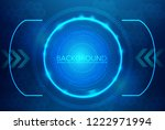 abstract technology background... | Shutterstock .eps vector #1222971994