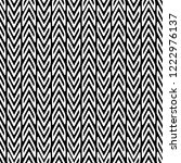zigzag black and white vector... | Shutterstock .eps vector #1222976137