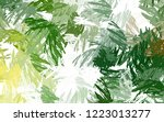 brushed painted abstract... | Shutterstock . vector #1223013277