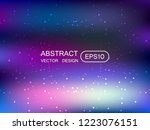 abstract blur multicolored ...   Shutterstock .eps vector #1223076151