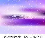 abstract blur multicolored ...   Shutterstock .eps vector #1223076154