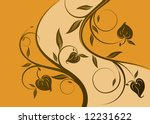 floral abstraction | Shutterstock .eps vector #12231622
