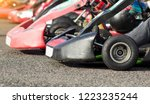 auto karting competition ... | Shutterstock . vector #1223235244