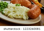 bangers and mash  english... | Shutterstock . vector #1223260081