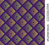seamless pattern with geometric ... | Shutterstock .eps vector #1223261554