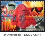 zagreb  croatia   november 1 ... | Shutterstock . vector #1223272144