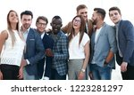 portrait of a group of leading... | Shutterstock . vector #1223281297