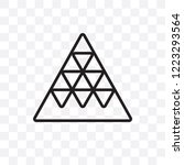 multiple triangles triangle... | Shutterstock .eps vector #1223293564