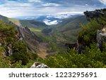 beautiful autumn in the...   Shutterstock . vector #1223295691