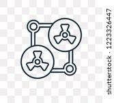 shaker vector outline icon... | Shutterstock .eps vector #1223326447