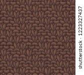 vector diagonal rib stitch... | Shutterstock .eps vector #1223327437