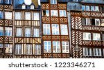 traditional half timbered... | Shutterstock . vector #1223346271