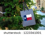 texas state flag printed on a... | Shutterstock . vector #1223361001