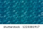 an abstract pattern of flying... | Shutterstock .eps vector #1223381917