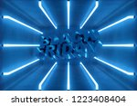 3d illustration black friday ... | Shutterstock . vector #1223408404
