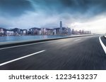 the road and the hongkong... | Shutterstock . vector #1223413237