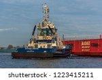 port of amsterdam  noord... | Shutterstock . vector #1223415211