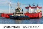 port of amsterdam  noord... | Shutterstock . vector #1223415214