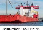 port of amsterdam  noord... | Shutterstock . vector #1223415244