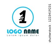 number one logo concept....