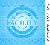 facility water representation...   Shutterstock .eps vector #1223424247