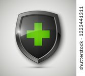 medical health protection... | Shutterstock . vector #1223441311
