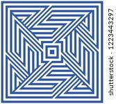 geometric seamless pattern ...   Shutterstock .eps vector #1223443297