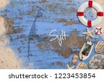 maritime decoration and the... | Shutterstock . vector #1223453854